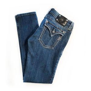 MISS ME | Skinny Flap Jeans
